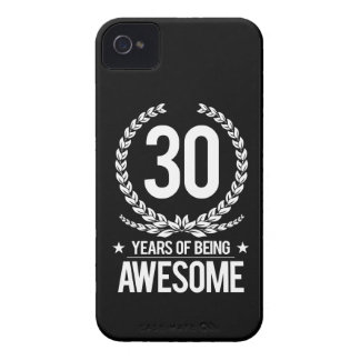 30th Birthday (30 Years Of Being Awesome) iPhone 4 Cover