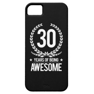 30th Birthday (30 Years Of Being Awesome) iPhone SE/5/5s Case