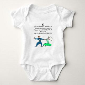 30th birthday baby bodysuit