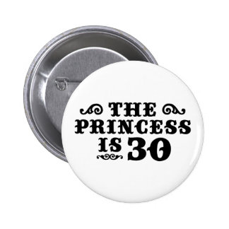 30th Birthday Button