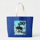 30th Birthday Canvas Bags
