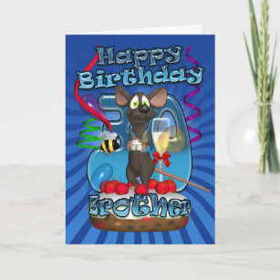 30th Birthday Card For Brother