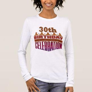30th Birthday Celebration Gifts Long Sleeve T-Shirt