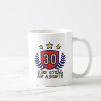 30th Birthday Classic White Coffee Mug