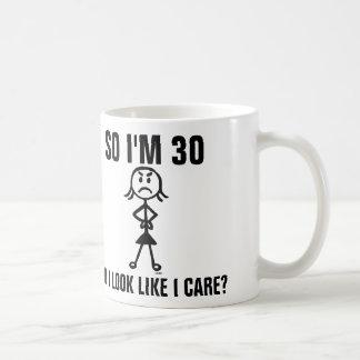 30th birthday coffee mugs, Funny Coffee Mug
