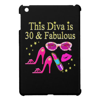 30TH BIRTHDAY DAZZLING DIVA DESIGN iPad MINI CASE