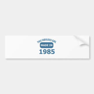 30th birthday designs bumper sticker