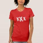 30th Birthday Dirty 30 Triple X Tee Shirts