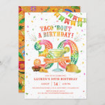 """30th Birthday Fiesta Invitation<br><div class=""""desc"""">Taco 'Bout a 30th Birthday Fiesta! Celebrate with this festive invitation featuring a large papel picado 30,  tacos,  chips & salsa,  and a margarita! This invite will set the stage for nacho average fiesta!</div>"""