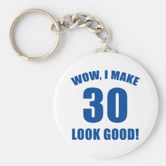 30th Birthday Gag Gift (b) Keychain