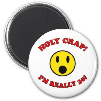 30th Birthday Gag Gifts 2 Inch Round Magnet