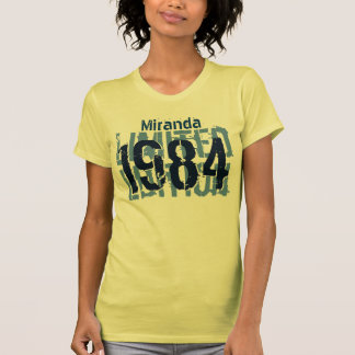 30th Birthday Gift 1984 Limited Edition for Her Tshirt