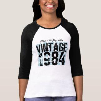 30th Birthday Gift Best 1984 Vintage Grunge V005 T-Shirt