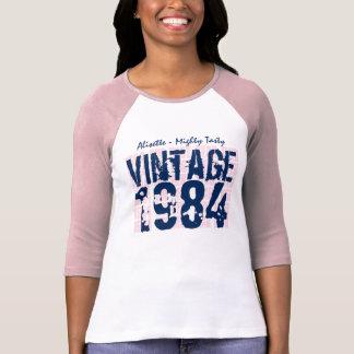30th Birthday Gift Best 1984 Vintage Grunge V007 T-Shirt