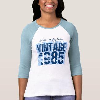 30th Birthday Gift Best 1985 Vintage Grunge V007D T-shirt