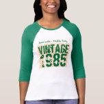 30th Birthday Gift Best 1985 Vintage Grunge V007F T Shirt