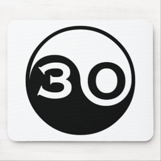 30th Birthday Gifts Mouse Pads