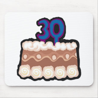 30th Birthday Gifts Mousepads