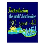 30th Birthday Gifts Postcard