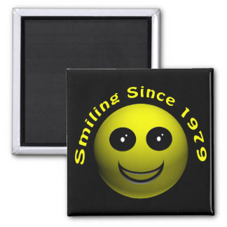 30th Birthday Gifts, Smiling Since 1979 ! Refrigerator Magnet
