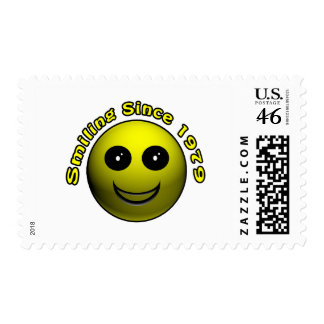 30th Birthday Gifts, Smiling Since 1979 ! Stamp