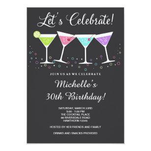 For 30th Birthday Invitations Announcements Zazzle