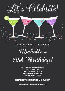 Adult birthday invitations zazzle 30th birthday invitation adult birthday invite filmwisefo
