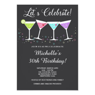 adult birthday invitations & announcements | zazzle, Birthday invitations
