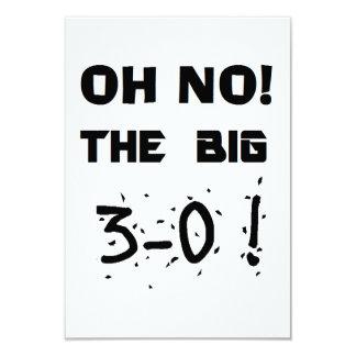 """30th Birthday"" Invitations"