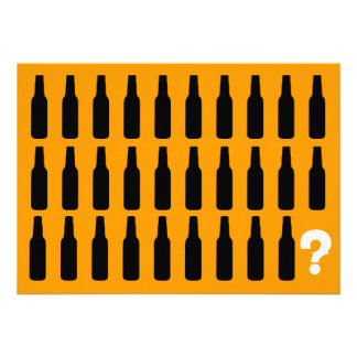 30th Birthday Invitations - Beer Cheers
