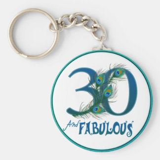 30th birthday key-chains key chain