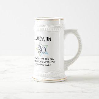 30th Birthday Mug- Customized