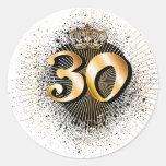30th Birthday or Anniversary Sticker