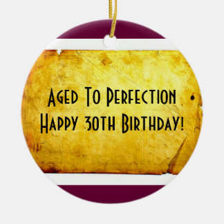30th Birthday Ornament