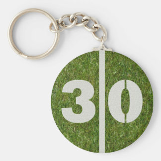 30th Birthday Party Favor Keychain