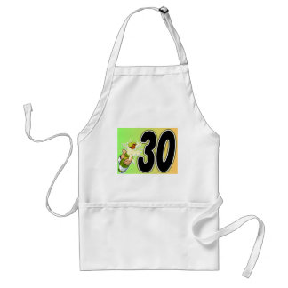 30th birthday party merchandise adult apron