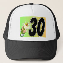 30th birthday party merchandise trucker hat