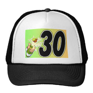 30th birthday party merchandise trucker hat