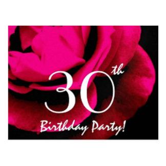 30th Birthday Party Postcard