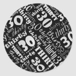30th Birthday Party Sticker