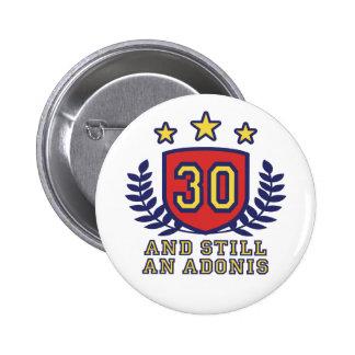 30th Birthday Pinback Button