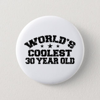 30th Birthday Pinback Button