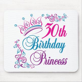30th Birthday Princess Mouse Pad