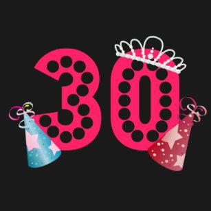 30th Birthday Princess Womens Button