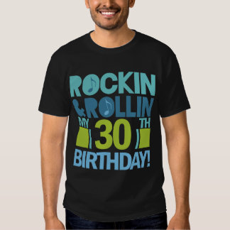 30th Birthday Rock And Roll Party Tee