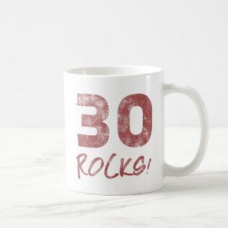 30th Birthday Rocks Coffee Mug