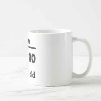 30th Birthday Square Root Classic White Coffee Mug