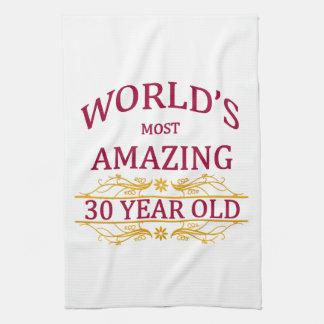 30th. Birthday Towels