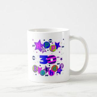 30th birthday tshirts coffee mug