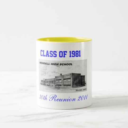 30th Class Reunion Two-Tone Coffee Mug